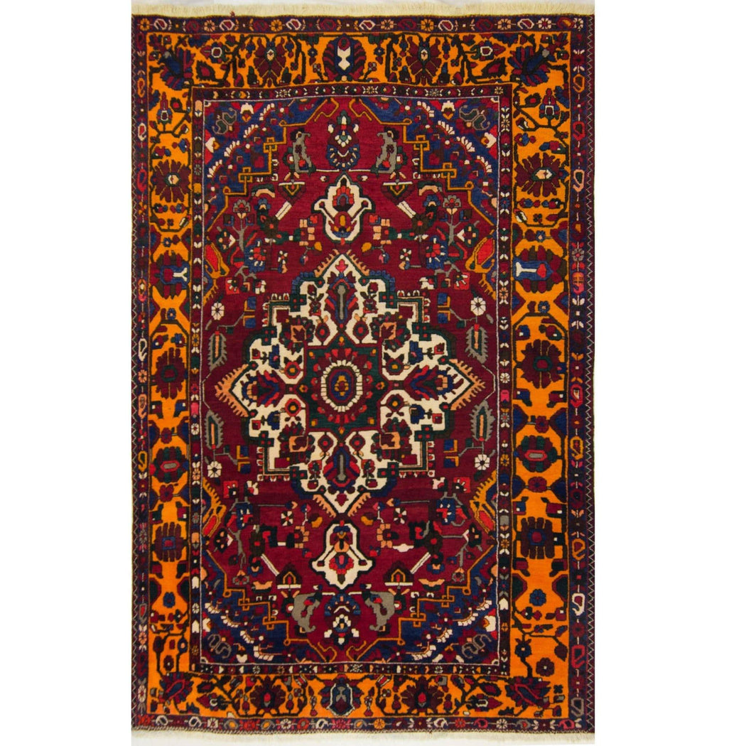 Stunning Hand-knotted Wool Persian Bakhtiari Rug 200cm x 318cm - House Of Haghi