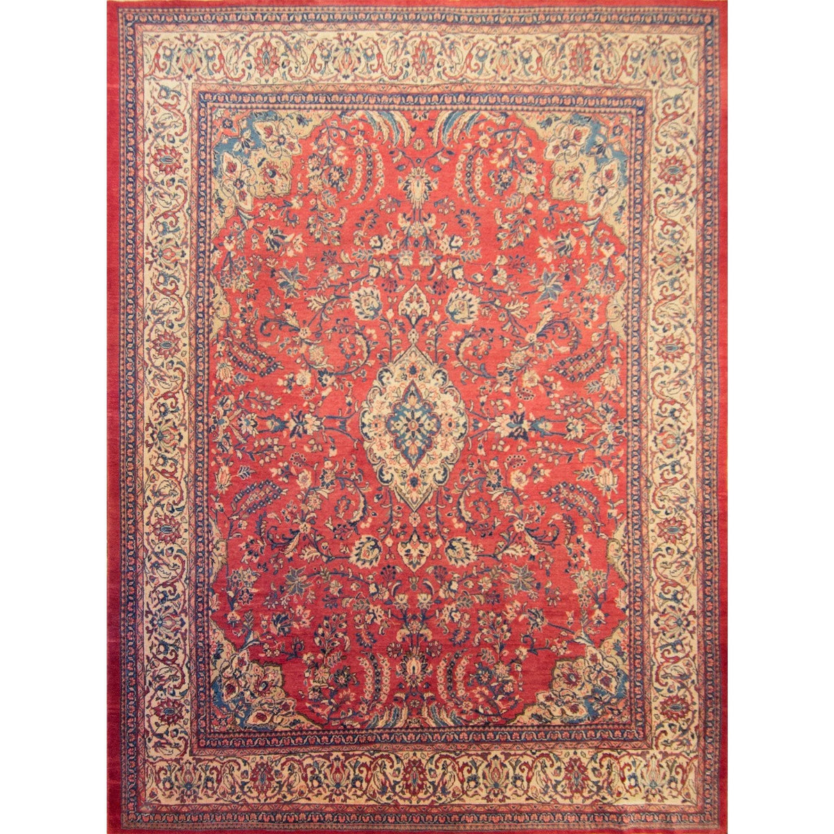 Fine Hand-knotted Persian Kashmar Rug 290cm x 385cm Persian-Rug | House-of-Haghi | NewMarket | Auckland | NZ | Handmade Persian Rugs | Hand Knotted Persian Rugs