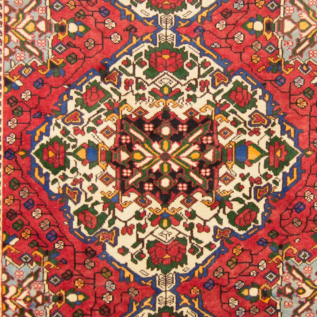 1.5 x 3 Meter_Persian_Persian Hand-knotted Wool Bakhtiari Rug_handknotted_Runner