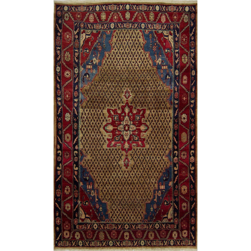 Tribal Hand-knotted Persian Wool Bijar Rug 150 cm x 270 cm - House Of Haghi