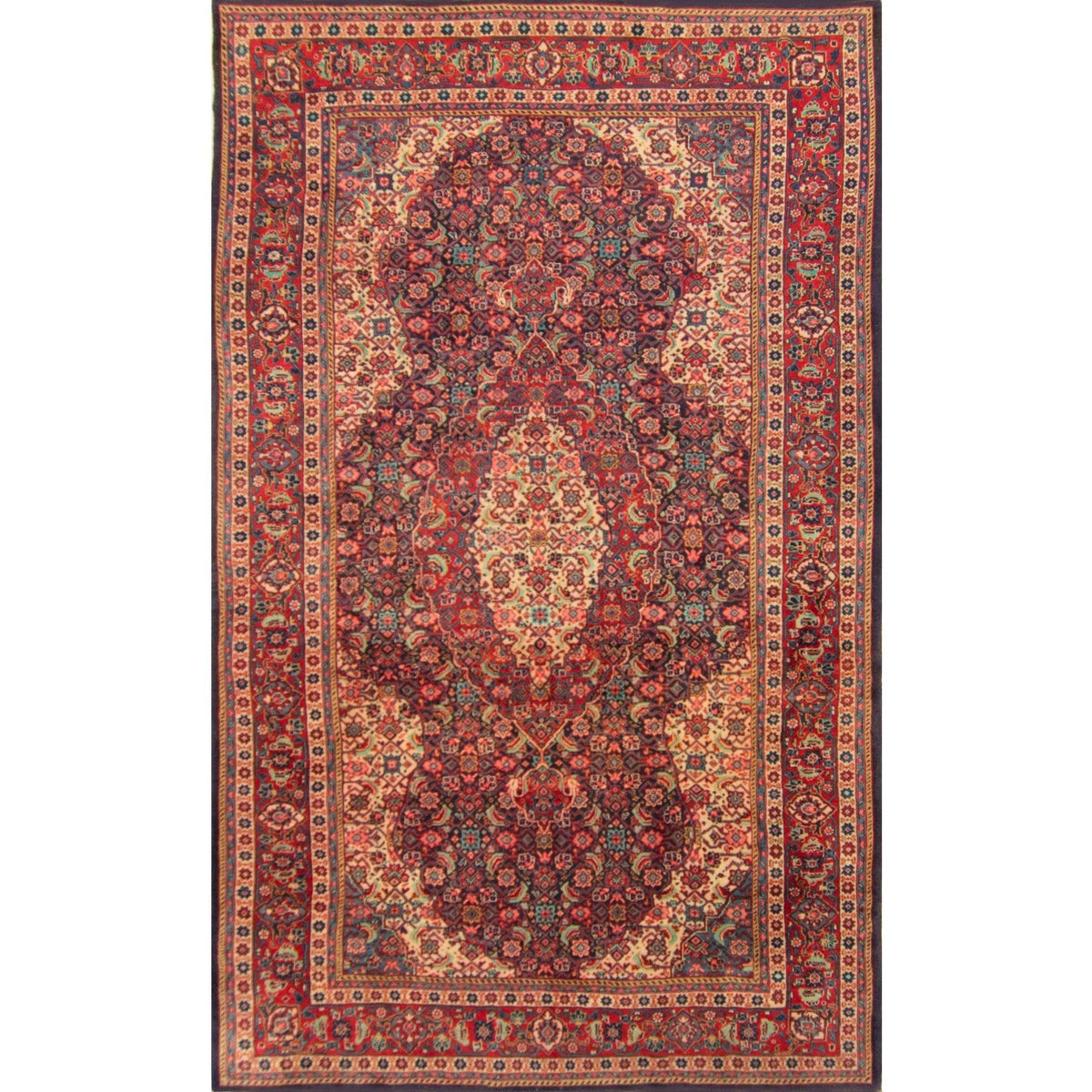 Authentic Hand-knotted Persian Hamadan Rug Persian-Rug | House-of-Haghi | NewMarket | Auckland | NZ | Handmade Persian Rugs | Hand Knotted Persian Rugs