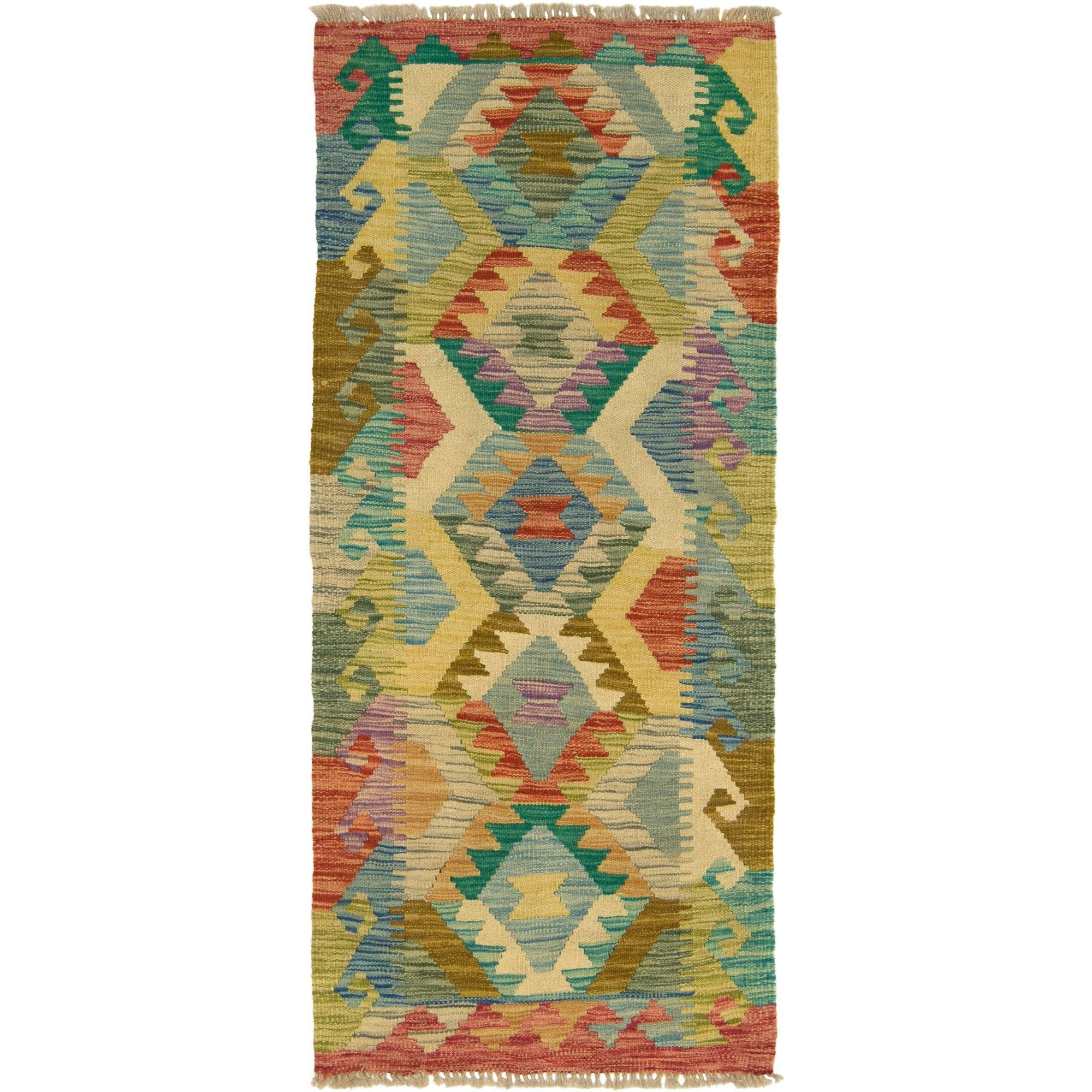 Hand-woven Afghan Chobi Kilim Runner 62cm x 186cm Persian-Rug | House-of-Haghi | NewMarket | Auckland | NZ | Handmade Persian Rugs | Hand Knotted Persian Rugs