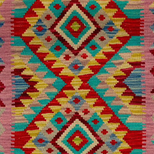 0.5 x 1 Meter_Persian_Hand-woven Afghan Chobi Kilim_handknotted_Rug