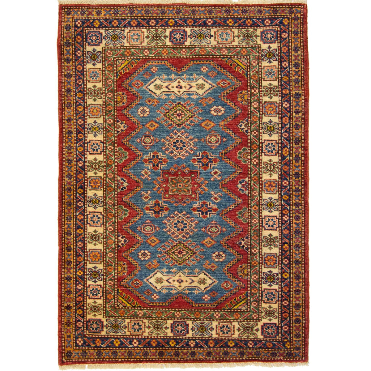 Super Kazak Rug 103cm x 149cm Persian-Rug | House-of-Haghi | NewMarket | Auckland | NZ | Handmade Persian Rugs | Hand Knotted Persian Rugs