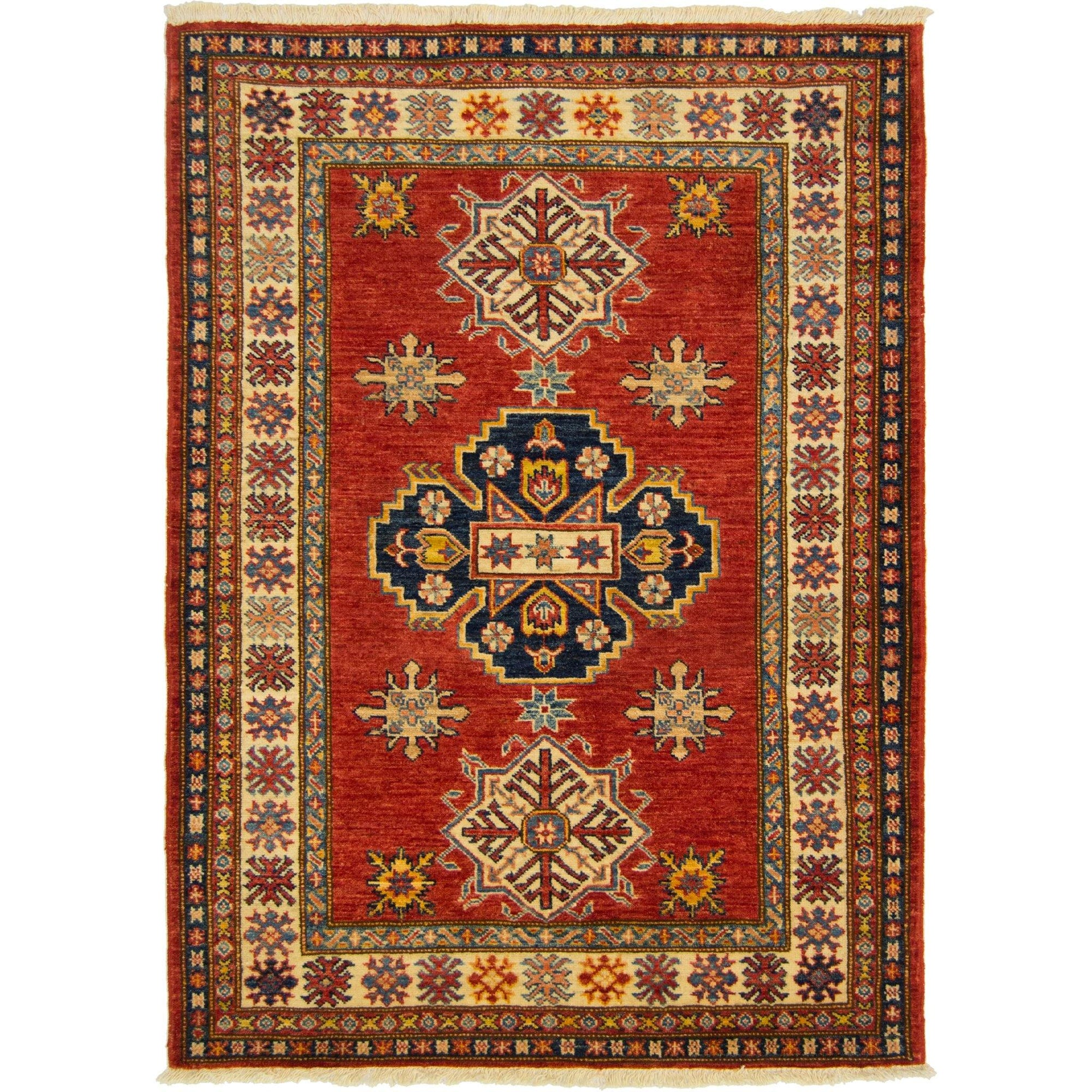 Hand-knotted Super Kazak Small Rug 110cm x 152cm Persian-Rug | House-of-Haghi | NewMarket | Auckland | NZ | Handmade Persian Rugs | Hand Knotted Persian Rugs