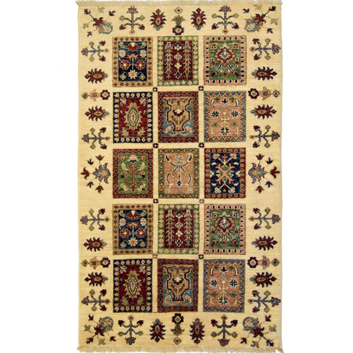 Beautiful Hand-knotted Wool Persian Bakhtiari Rug