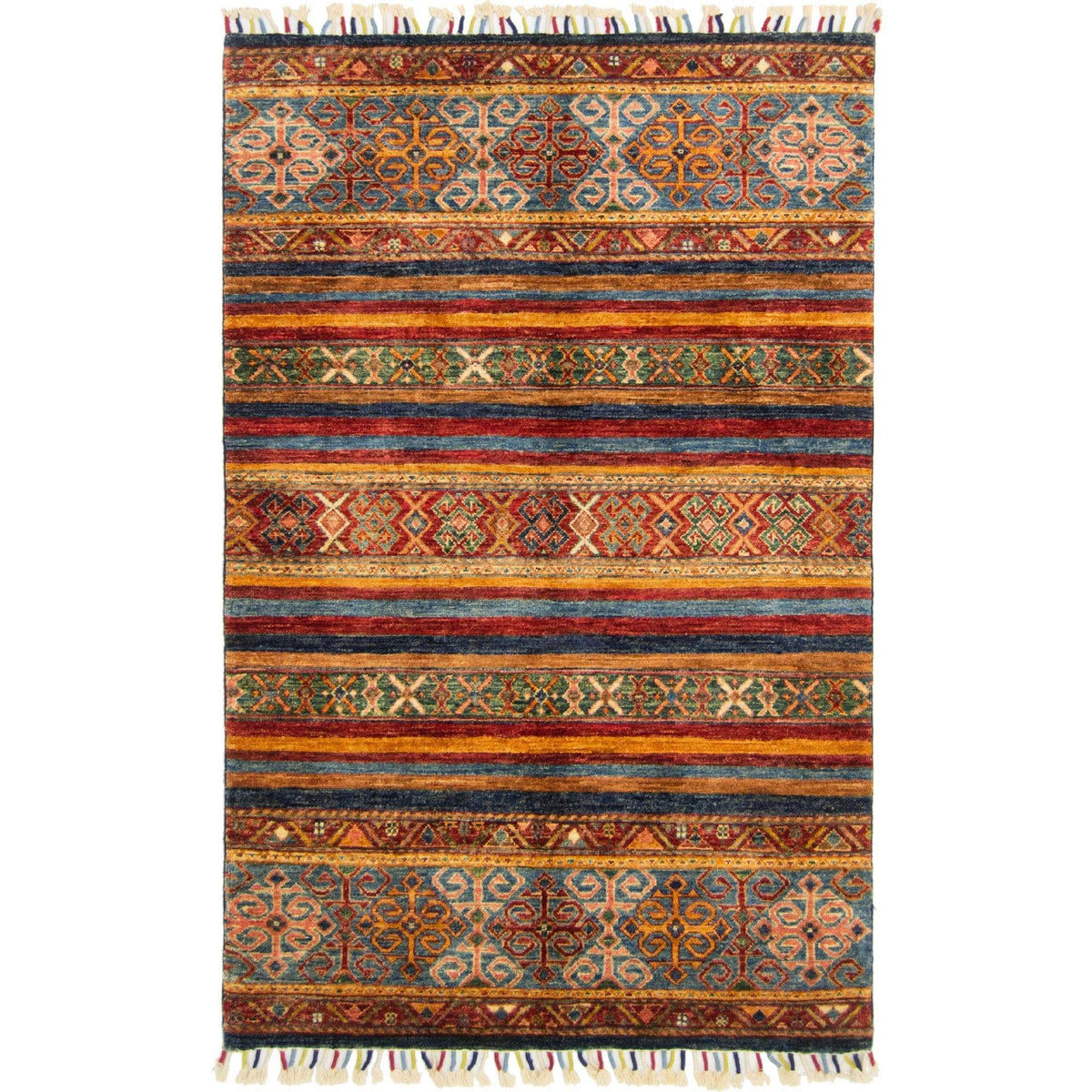 Hand-knotted Tribal Khorjin Rug 102cm x 157cm Persian-Rug | House-of-Haghi | NewMarket | Auckland | NZ | Handmade Persian Rugs | Hand Knotted Persian Rugs