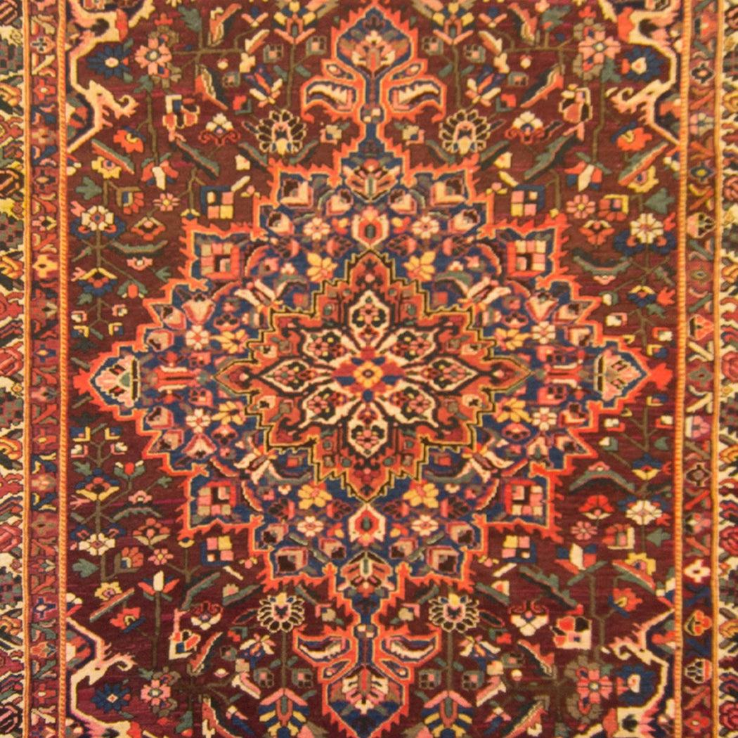 Stunning Over Size Hand-knotted Persian Wool Bakhtiari Rug 294cm x 460cm - House Of Haghi