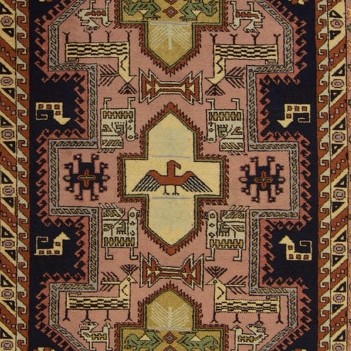 Fine Hand-knotted Wool Persian Ardabil Rug 135cm x 190cm - House Of Haghi