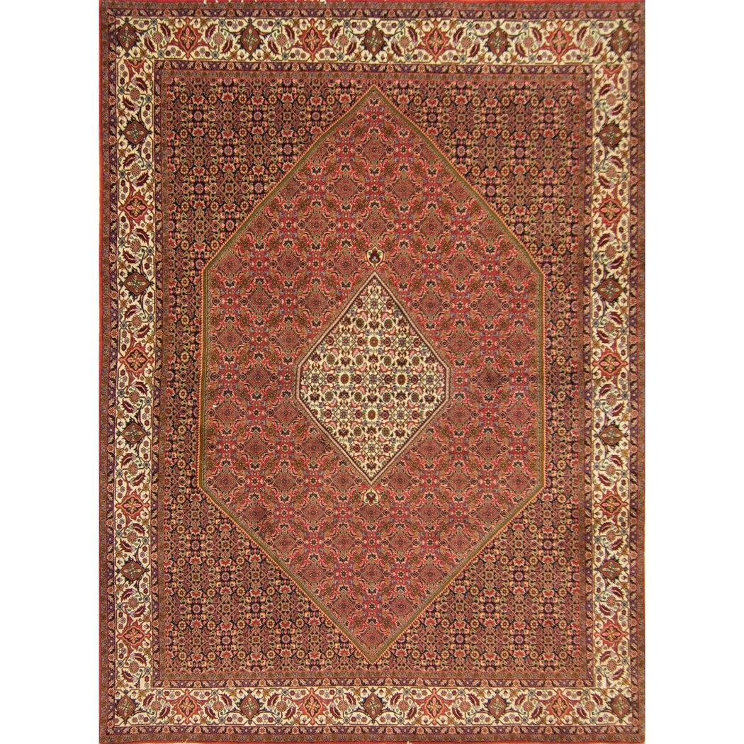 Super Fine Hand-knotted Persian Bijar Rug 246cm x 342cm - House Of Haghi