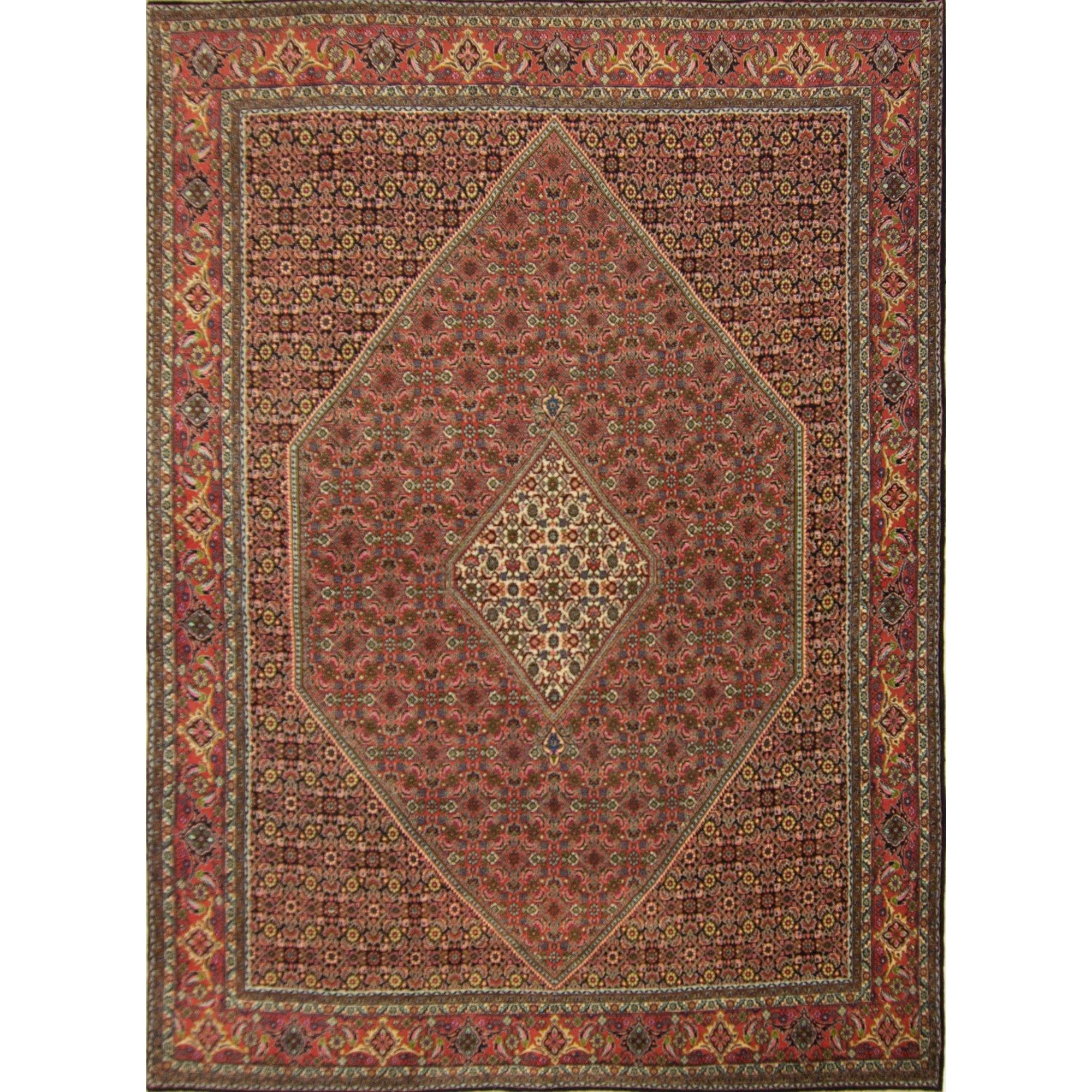Super Fine Hand-knotted Persian Wool Bijar Rug 252cm x 352cm Persian-Rug | House-of-Haghi | NewMarket | Auckland | NZ | Handmade Persian Rugs | Hand Knotted Persian Rugs