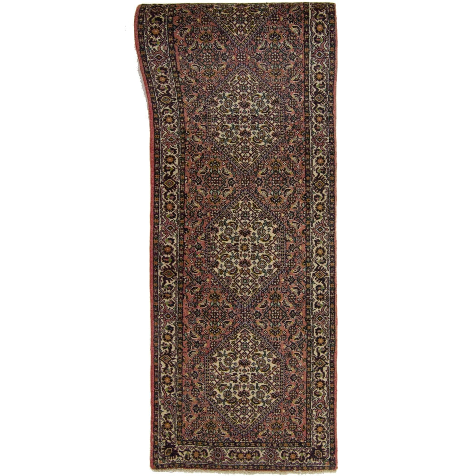 Fine Hand-knotted Wool Persian Bijar Runner 70cm x 477cm Persian-Rug | House-of-Haghi | NewMarket | Auckland | NZ | Handmade Persian Rugs | Hand Knotted Persian Rugs
