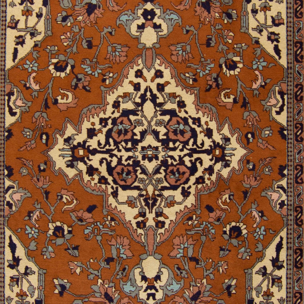 1.5 x 2.5 Meter_Persian_Fine Hand-knotted Persian Ardabil Rug_handknotted_Rug