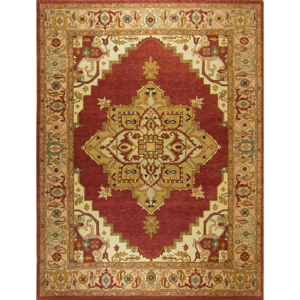 Hand-knotted Wool Traditional Persian Rug 272cm x 366cm - House Of Haghi