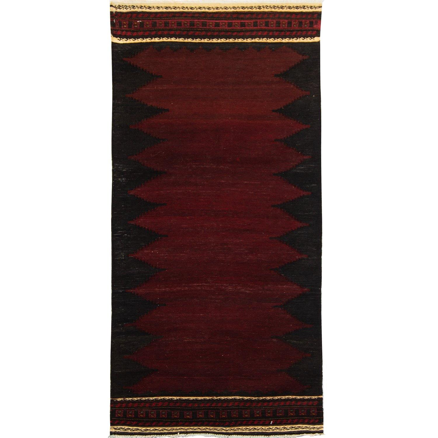 Fine Hand-woven 100% Wool Kilim 60cm x 169cm Persian-Rug | House-of-Haghi | NewMarket | Auckland | NZ | Handmade Persian Rugs | Hand Knotted Persian Rugs