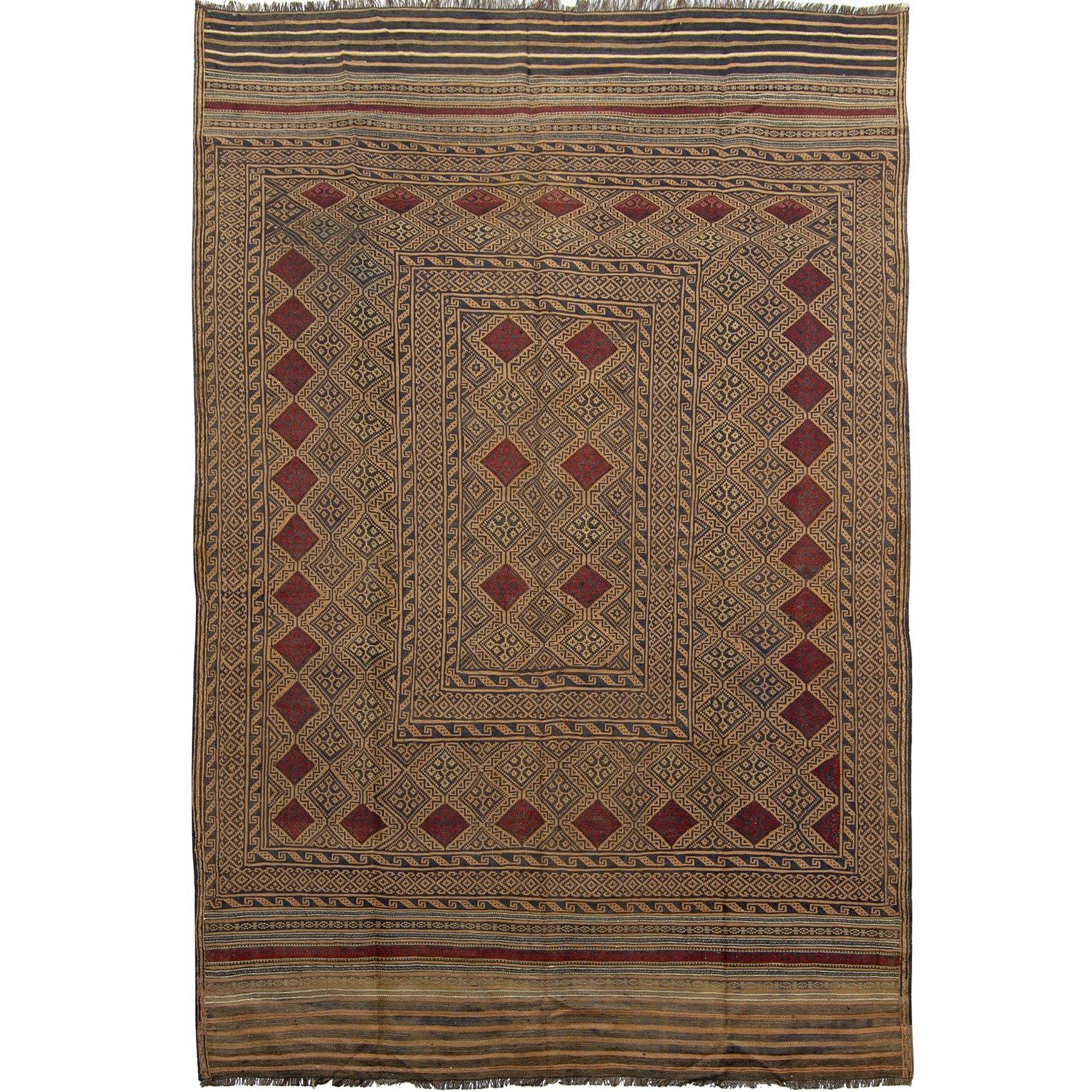 Fine Hand-Woven 100% Wool Kilim 153cm x  236cm Persian-Rug | House-of-Haghi | NewMarket | Auckland | NZ | Handmade Persian Rugs | Hand Knotted Persian Rugs