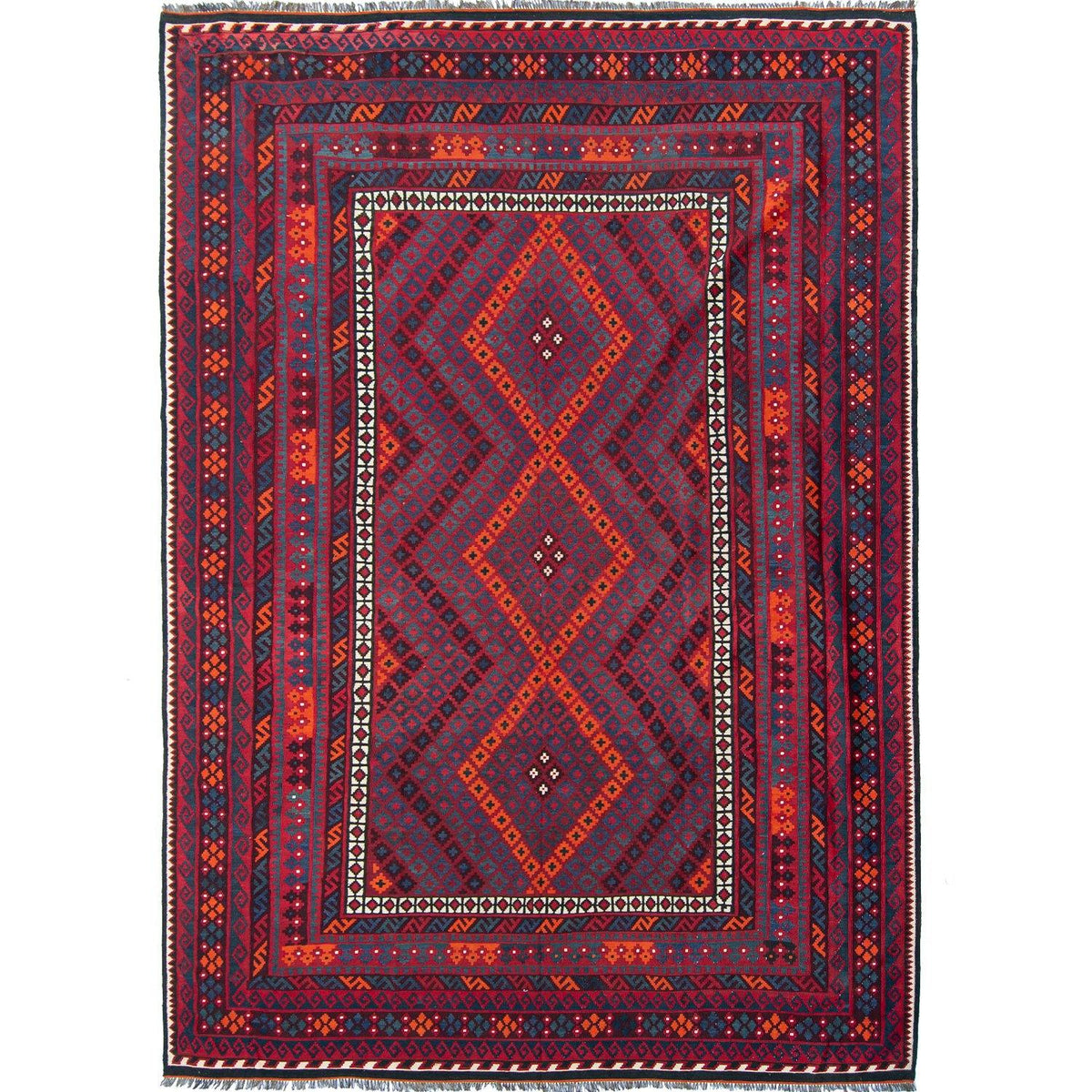 Fine Hand-woven 100% Wool Kilim Rug 285cm x 400cm Persian-Rug | House-of-Haghi | NewMarket | Auckland | NZ | Handmade Persian Rugs | Hand Knotted Persian Rugs