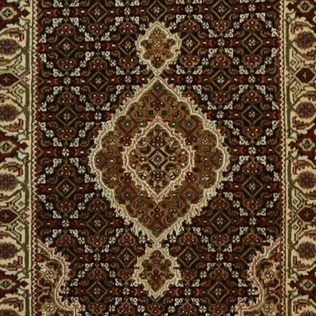 Fine Hand-knotted Wool Persian Tabriz' Mahi' Design Runner 80cm x 202cm Persian-Rug | House-of-Haghi | NewMarket | Auckland | NZ | Handmade Persian Rugs | Hand Knotted Persian Rugs