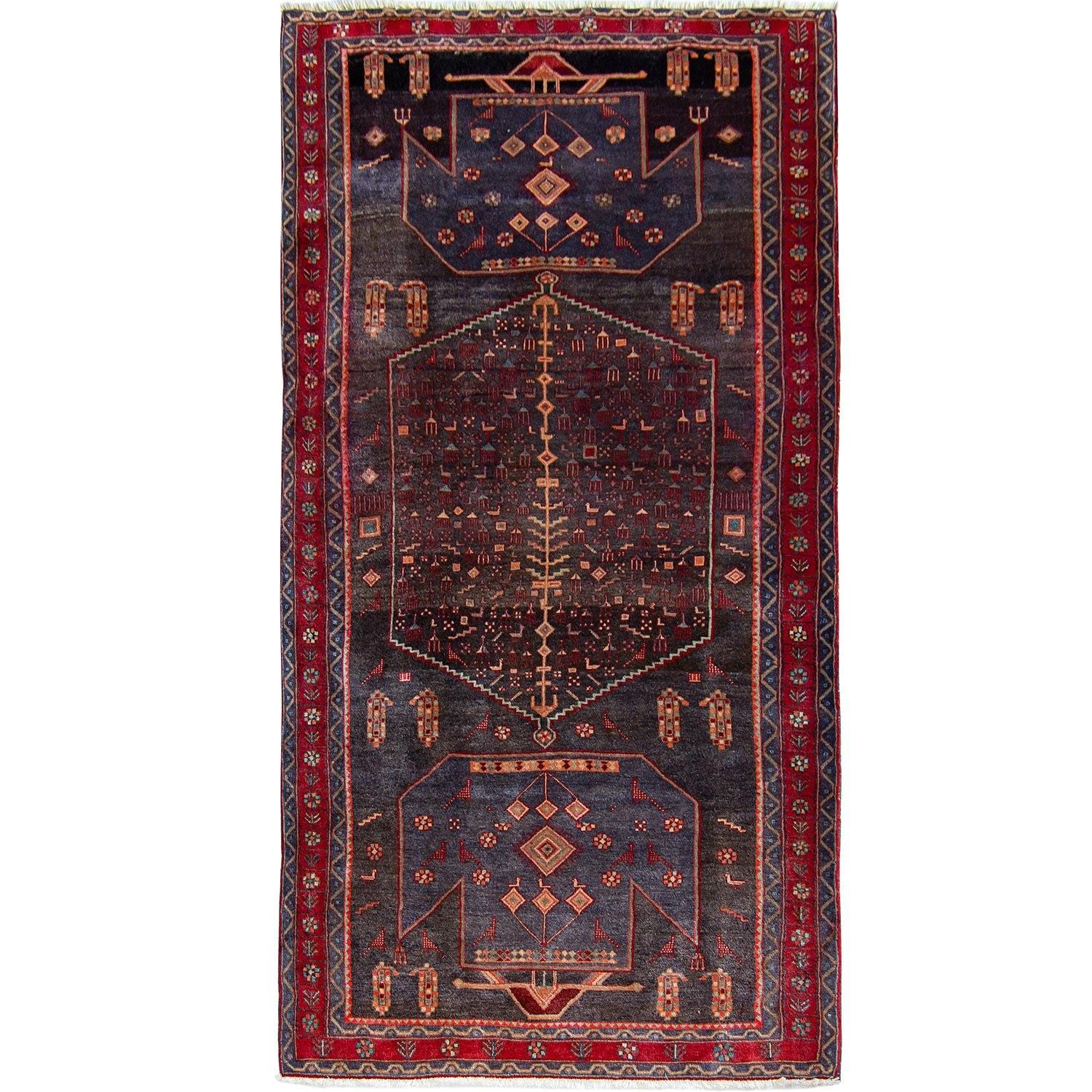 Fine Hand-knotted Wool Vintage Kolyai Persian Runner 150cm x 332cm Persian-Rug | House-of-Haghi | NewMarket | Auckland | NZ | Handmade Persian Rugs | Hand Knotted Persian Rugs