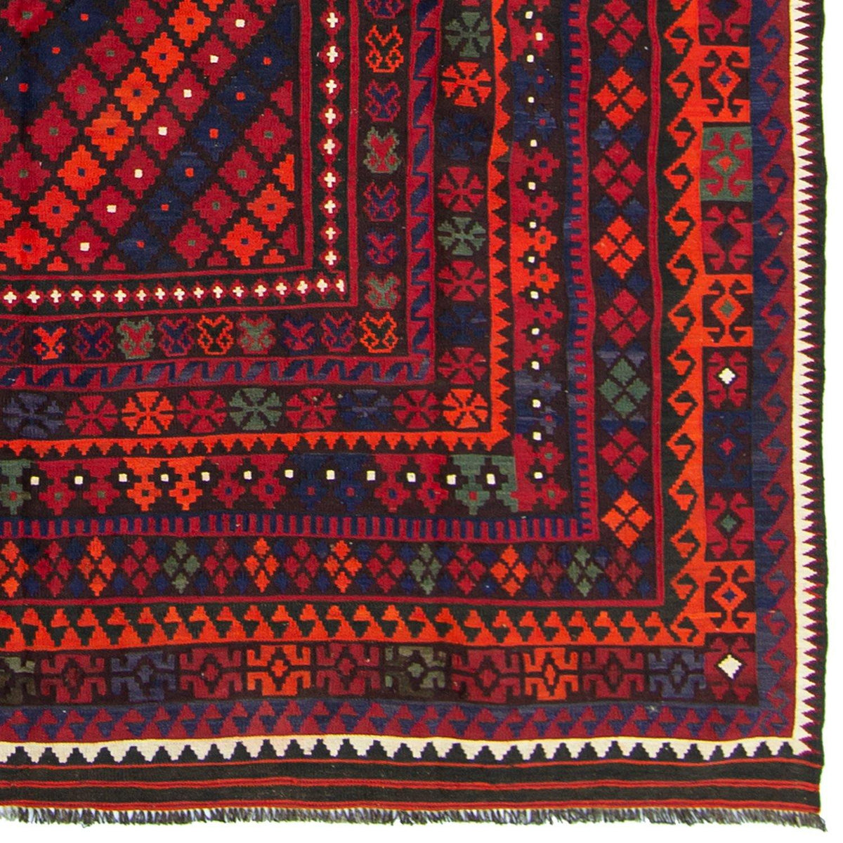 Fine 100% Wool Kilim Rug 246cm x  412cm Persian-Rug | House-of-Haghi | NewMarket | Auckland | NZ | Handmade Persian Rugs | Hand Knotted Persian Rugs