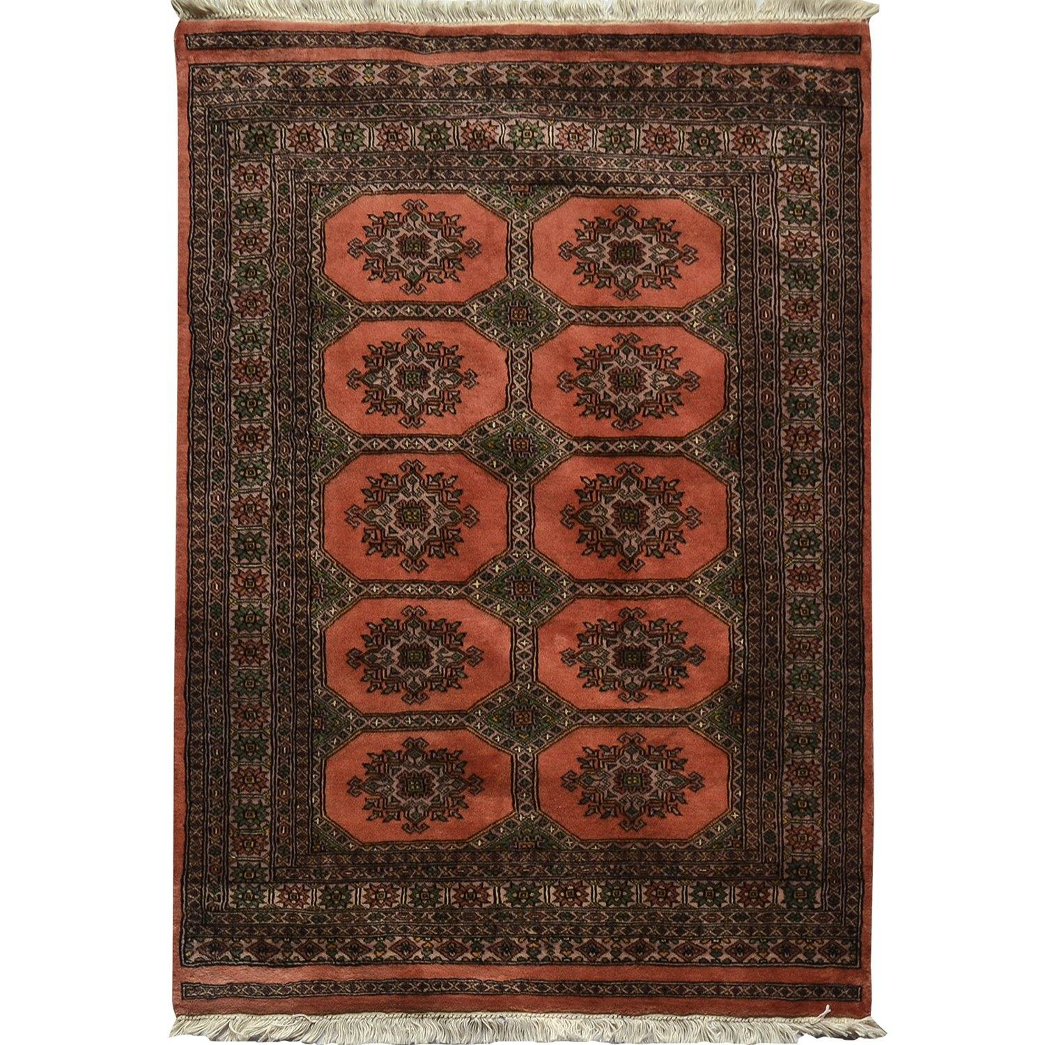 Hand-knotted Bokhara Rug 126cm x 175cm Persian-Rug | House-of-Haghi | NewMarket | Auckland | NZ | Handmade Persian Rugs | Hand Knotted Persian Rugs