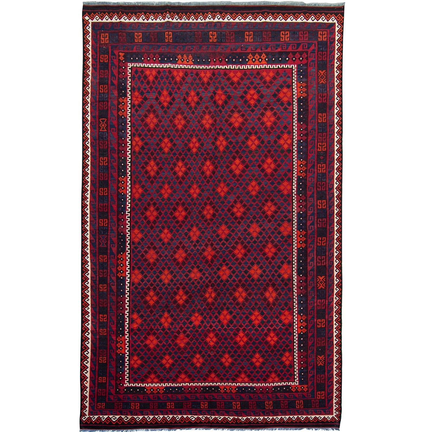 Fine Hand-woven 100% Wool KIlim Rug 265cm x 490cm Persian-Rug | House-of-Haghi | NewMarket | Auckland | NZ | Handmade Persian Rugs | Hand Knotted Persian Rugs