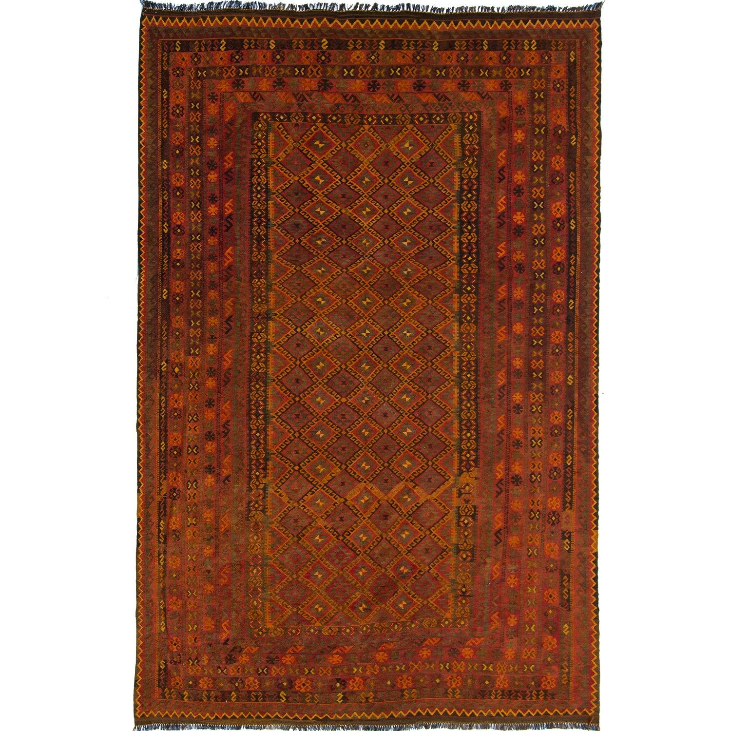 Fine Hand-Woven 100% Kilim Shiraz Rug 264cm x 400cm Persian-Rug | House-of-Haghi | NewMarket | Auckland | NZ | Handmade Persian Rugs | Hand Knotted Persian Rugs