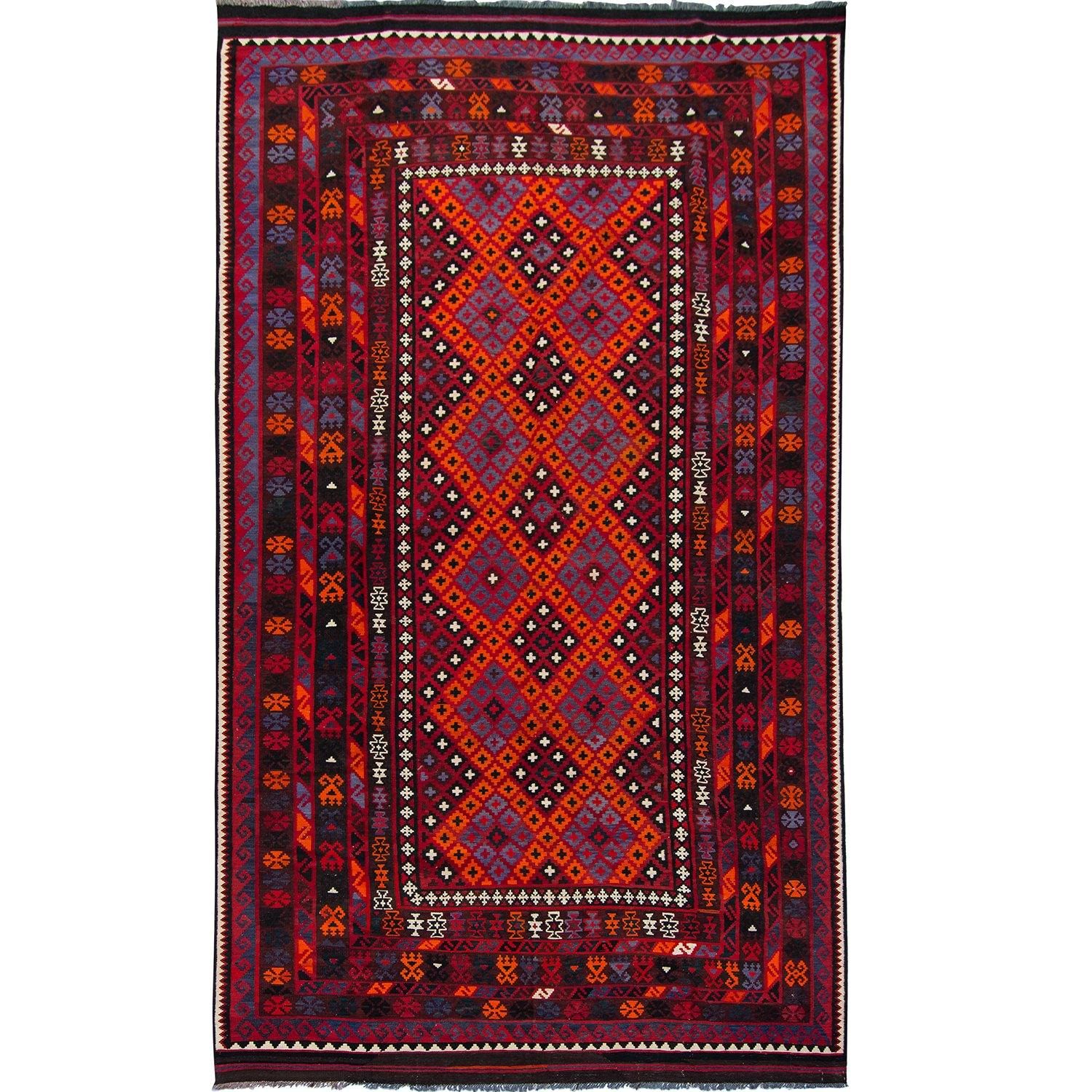 Fine Hand-woven 100% Wool Kilim Rug 255cm x 496cm Persian-Rug | House-of-Haghi | NewMarket | Auckland | NZ | Handmade Persian Rugs | Hand Knotted Persian Rugs