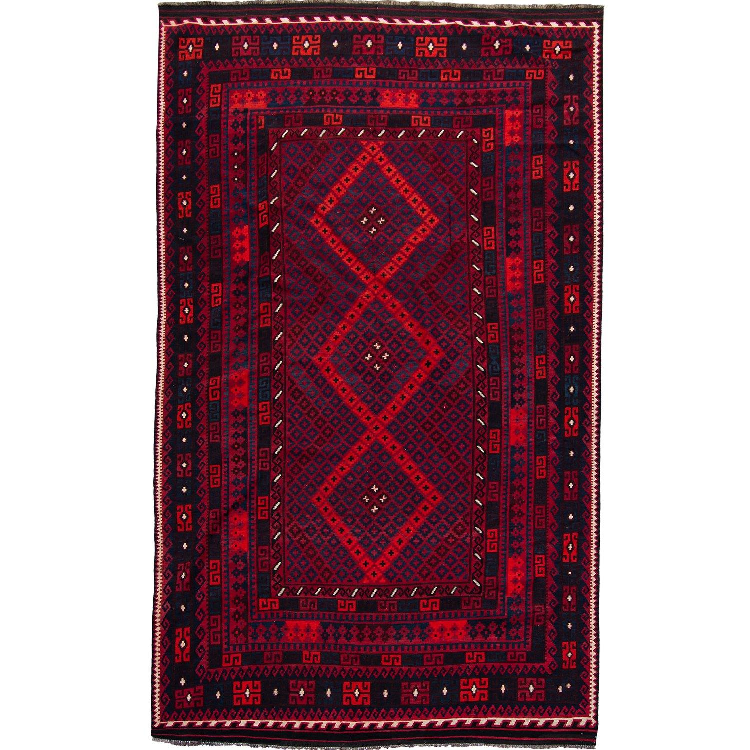 Fine Hand-woven 100% Wool Kilim Rug 286cm x 440cm Persian-Rug | House-of-Haghi | NewMarket | Auckland | NZ | Handmade Persian Rugs | Hand Knotted Persian Rugs