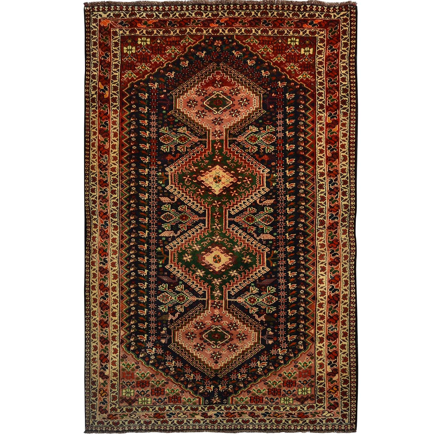 Fine Hand-knotted Persian Shiraz Wool Rug 164cm x 266cm Persian-Rug | House-of-Haghi | NewMarket | Auckland | NZ | Handmade Persian Rugs | Hand Knotted Persian Rugs