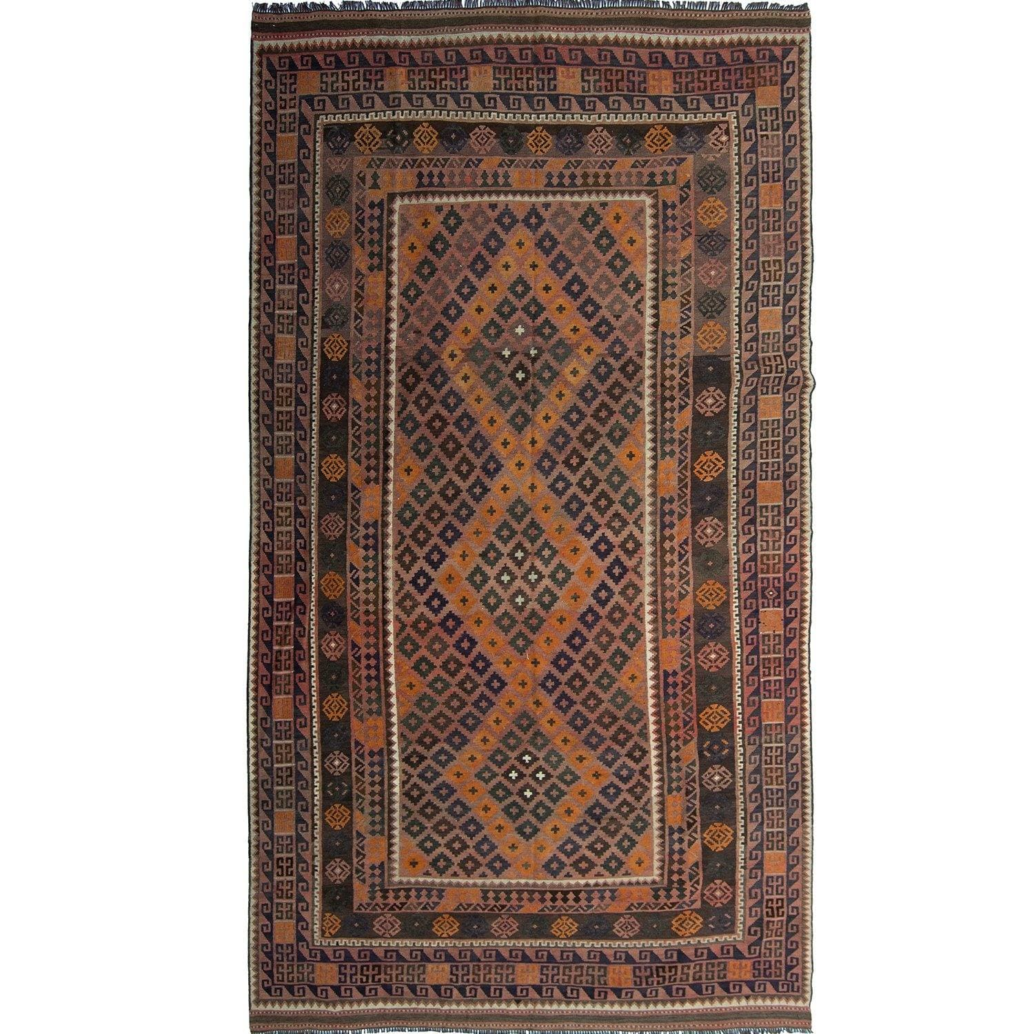 Fine Hand-woven 100% Wool Kilim Rug 237cm x 441cm Persian-Rug | House-of-Haghi | NewMarket | Auckland | NZ | Handmade Persian Rugs | Hand Knotted Persian Rugs