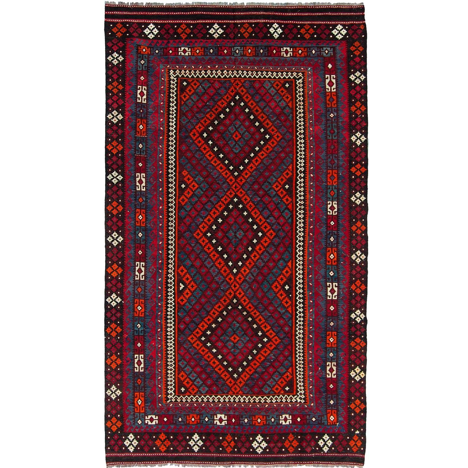 Fine Hand-woven 100% Wool KIlim Rug 240cm x 366cm Persian-Rug | House-of-Haghi | NewMarket | Auckland | NZ | Handmade Persian Rugs | Hand Knotted Persian Rugs