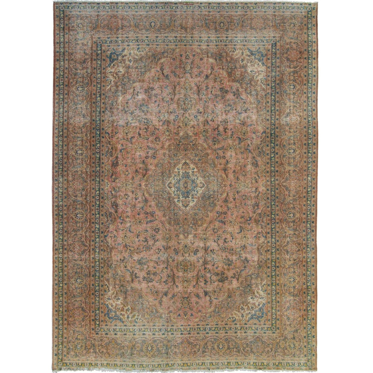 Vintage Persian Rug 301cm x 406cm Persian-Rug | House-of-Haghi | NewMarket | Auckland | NZ | Handmade Persian Rugs | Hand Knotted Persian Rugs