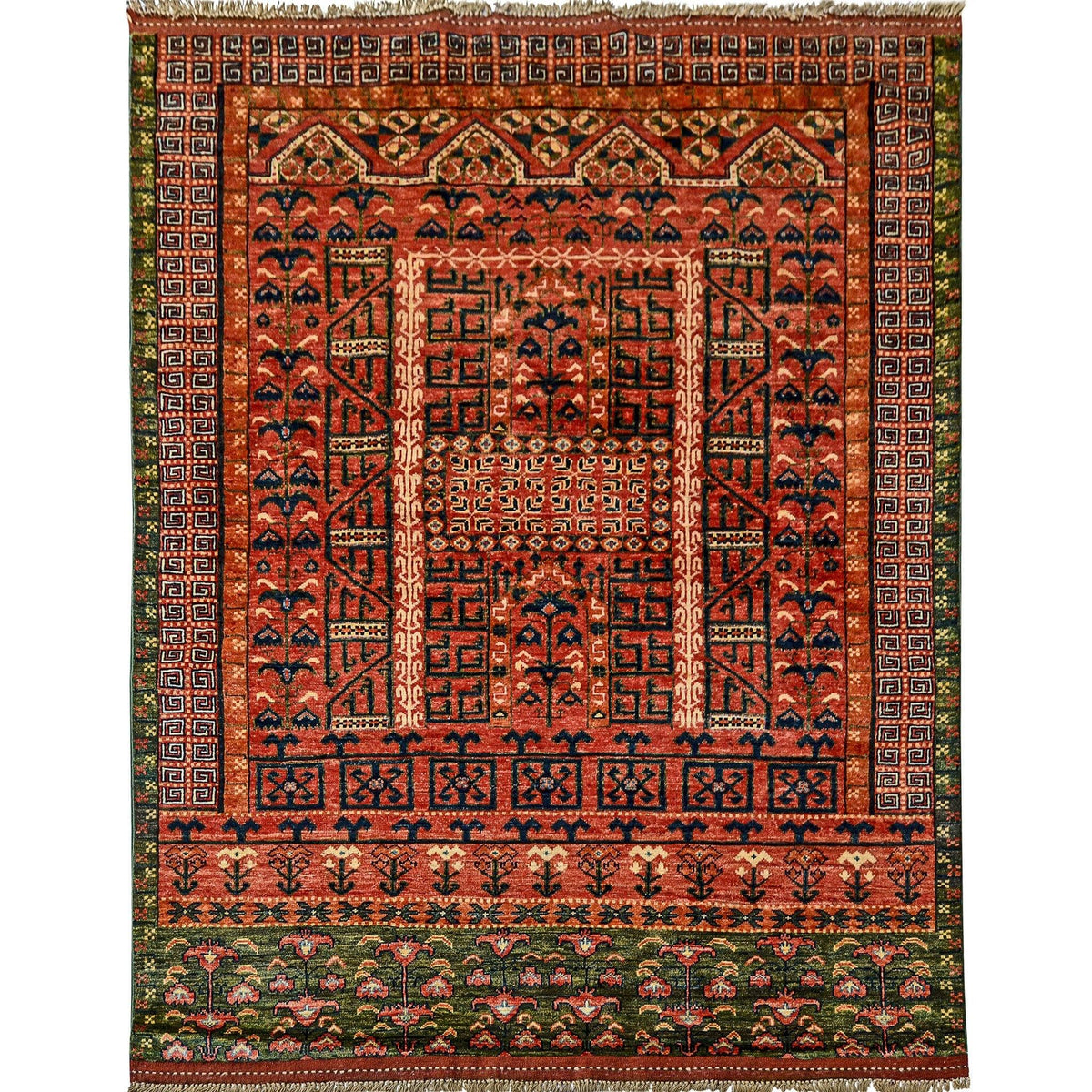 Fine Hand-knotted Wool Rug 156cm x 201cm Persian-Rug | House-of-Haghi | NewMarket | Auckland | NZ | Handmade Persian Rugs | Hand Knotted Persian Rugs