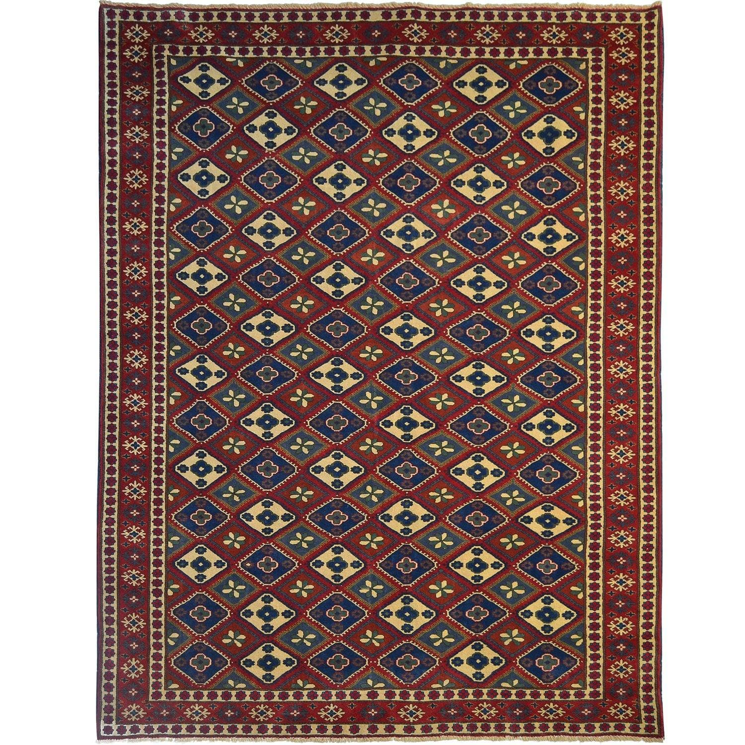 Fine Hand-knotted Persian Tribal Shirvan Rug 200cm x 280cm Persian-Rug | House-of-Haghi | NewMarket | Auckland | NZ | Handmade Persian Rugs | Hand Knotted Persian Rugs