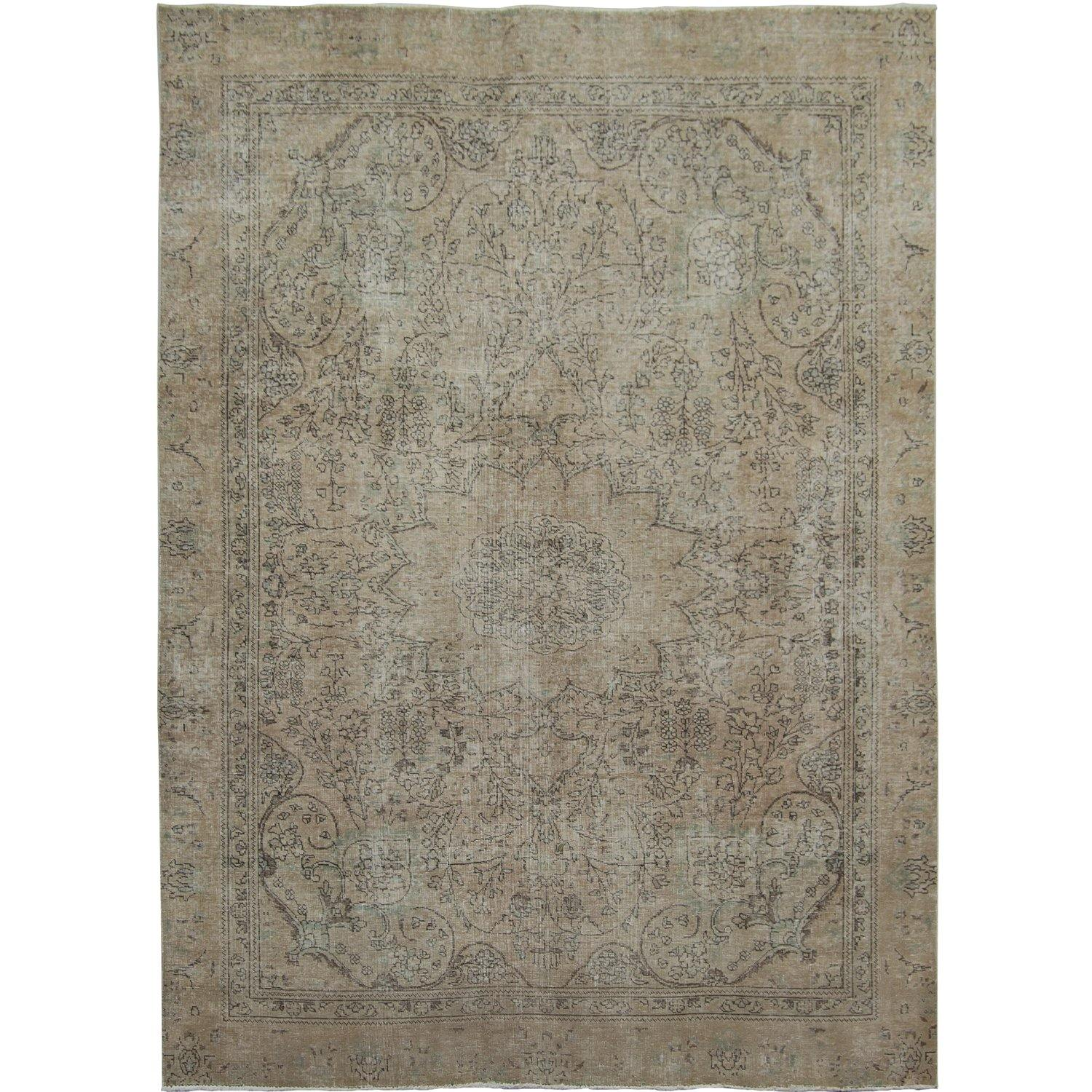 Vintage Persian Hand-knotted Wool Rug 230cm x 314cm Persian-Rug | House-of-Haghi | NewMarket | Auckland | NZ | Handmade Persian Rugs | Hand Knotted Persian Rugs