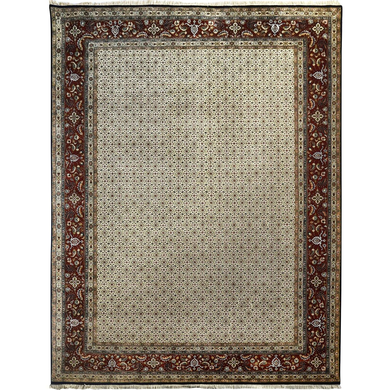 Super Fine Hand-knotted Maud Wool & Silk Large Rug 249cm x 353cm Persian-Rug | House-of-Haghi | NewMarket | Auckland | NZ | Handmade Persian Rugs | Hand Knotted Persian Rugs