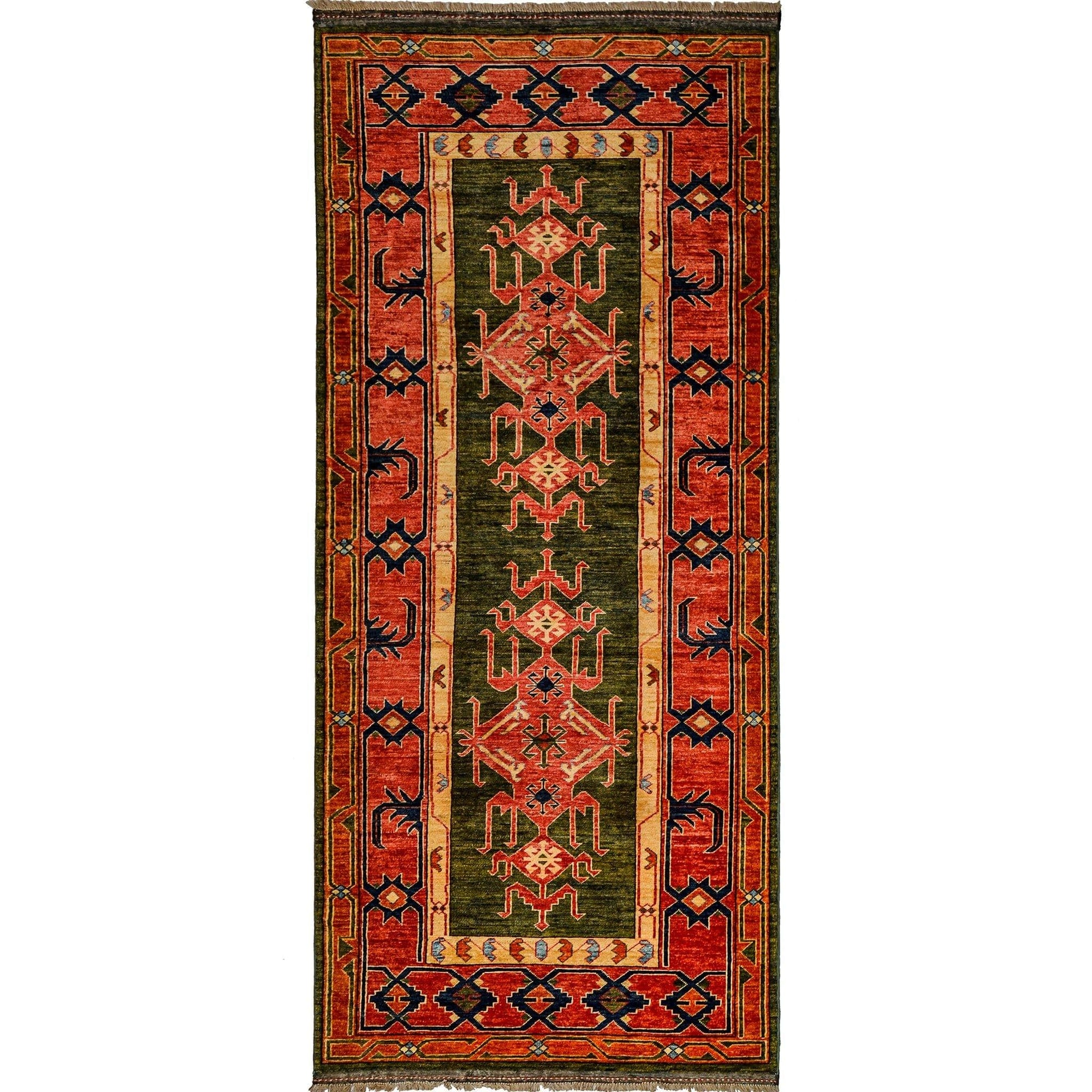 Fine Hand-knotted Wool Runner 127cm x 292cm Persian-Rug | House-of-Haghi | NewMarket | Auckland | NZ | Handmade Persian Rugs | Hand Knotted Persian Rugs