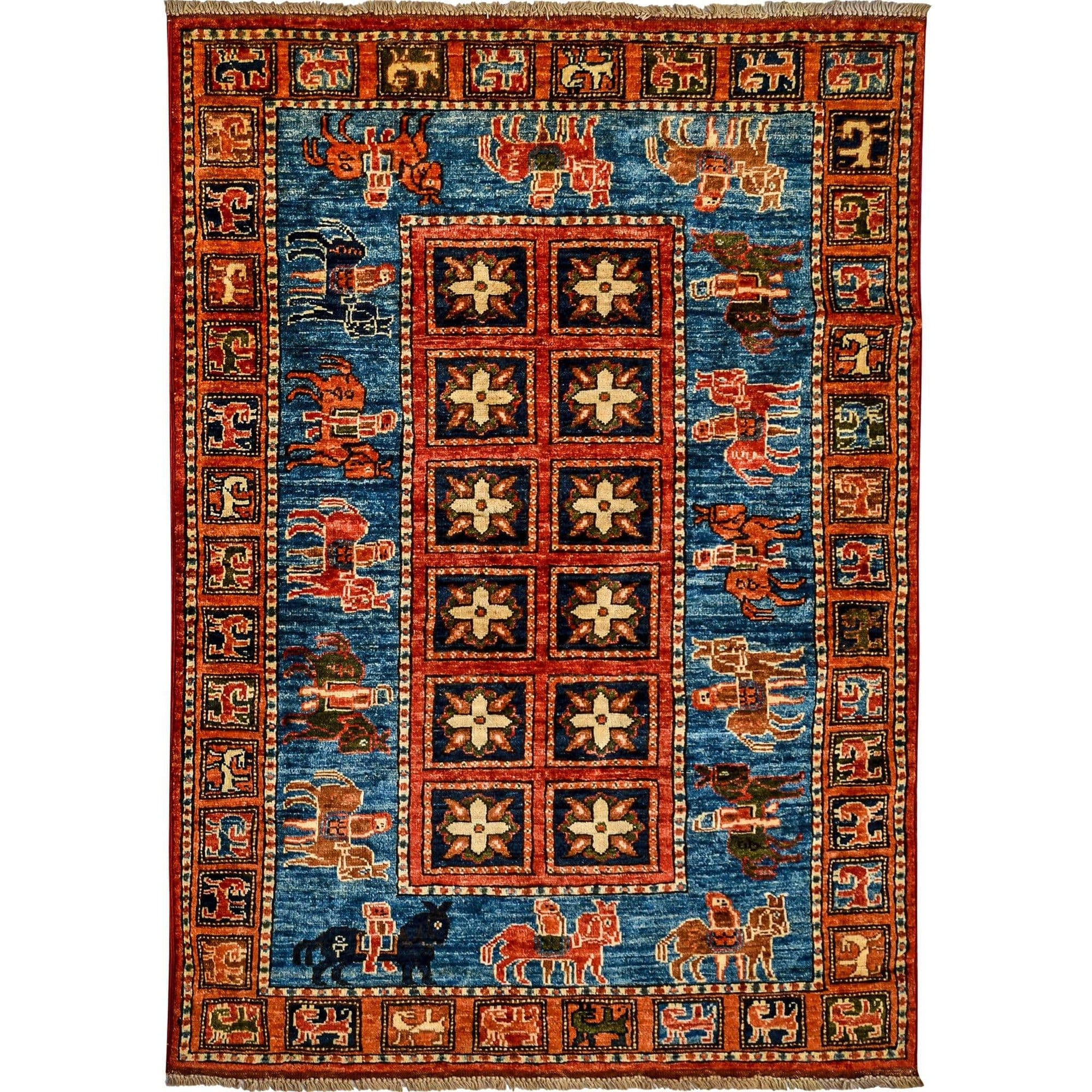 Fine Hand-knotted Wool Small Rug 1.05cm x 1.48cm Persian-Rug | House-of-Haghi | NewMarket | Auckland | NZ | Handmade Persian Rugs | Hand Knotted Persian Rugs