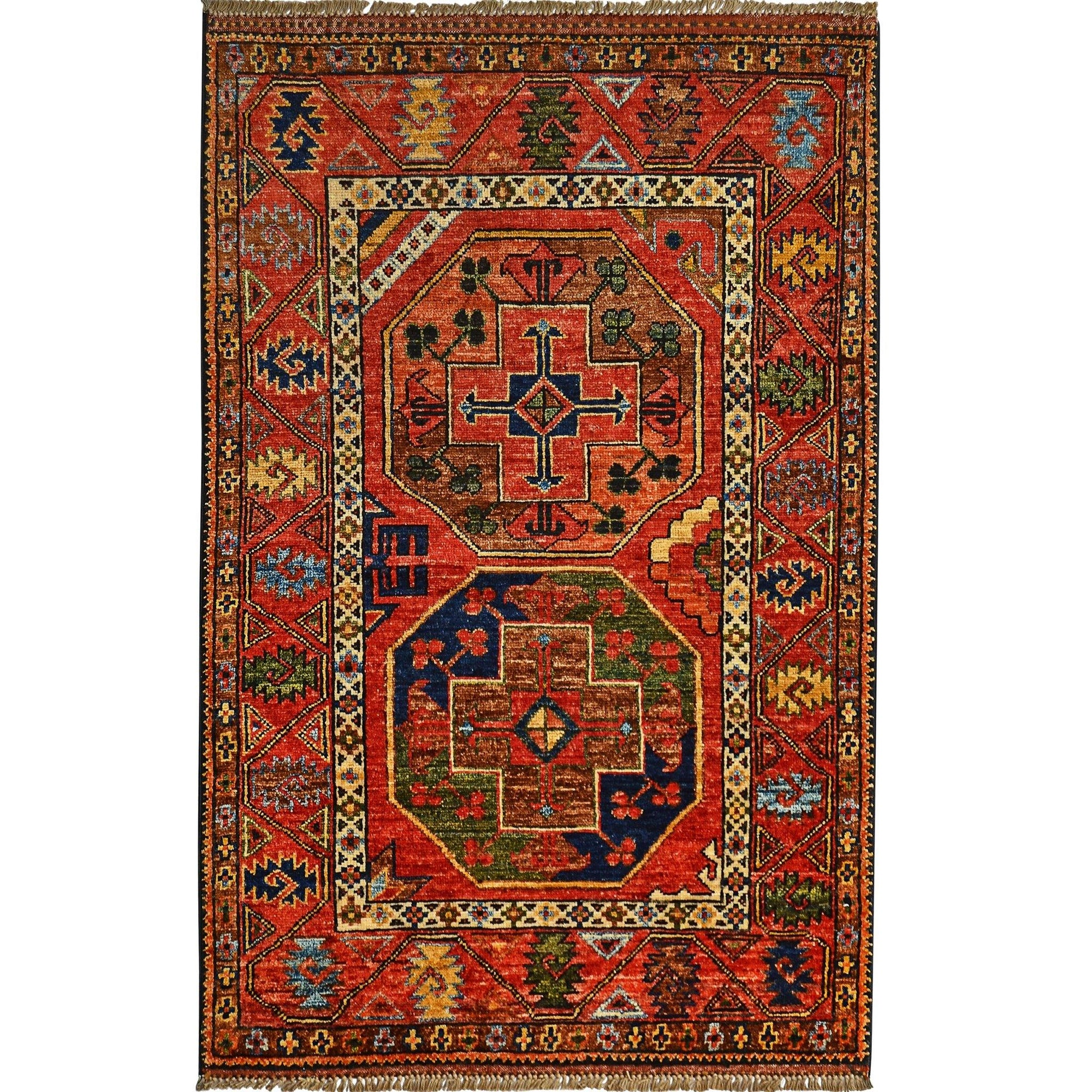 Fine Hand-knotted Wool Small Rug 86cm x 128cm Persian-Rug | House-of-Haghi | NewMarket | Auckland | NZ | Handmade Persian Rugs | Hand Knotted Persian Rugs