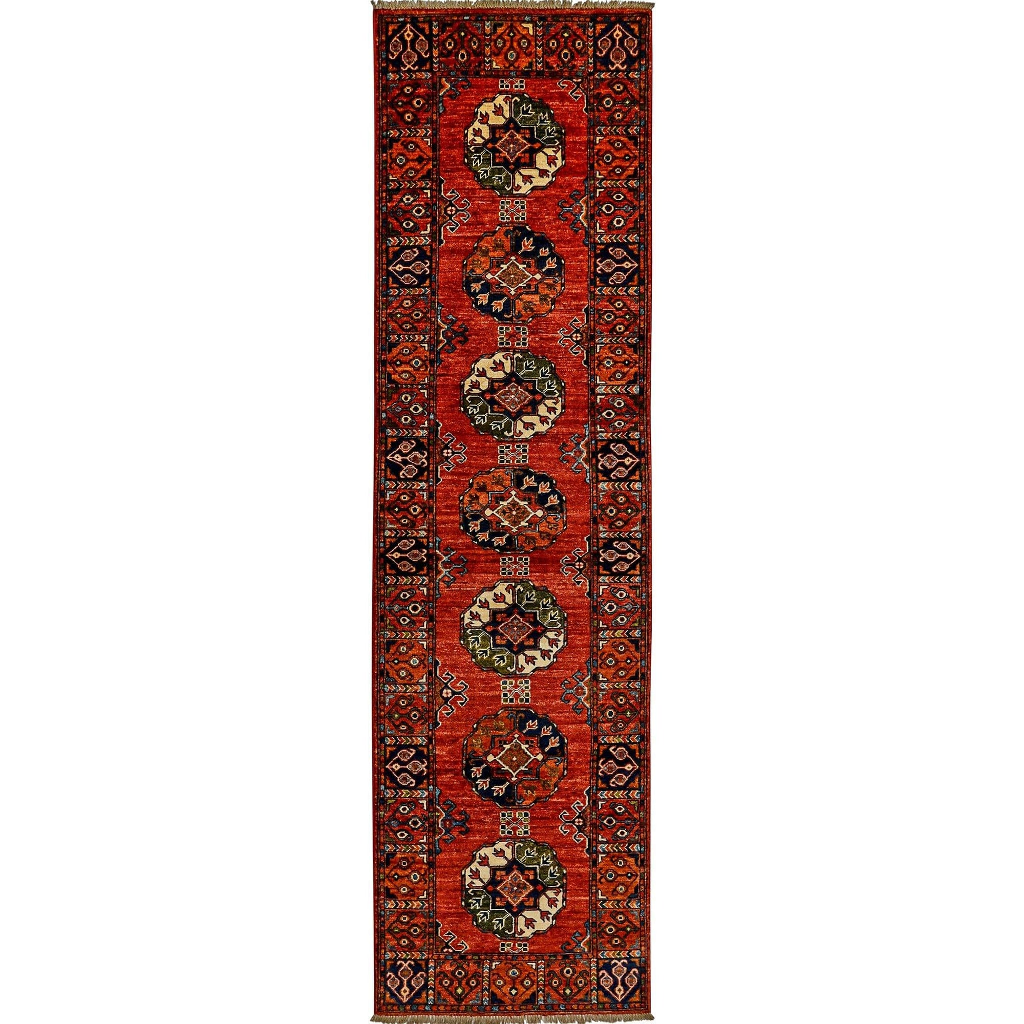 Fine Hand-knotted Wool Tribal Runner 84cm x 298cm Persian-Rug | House-of-Haghi | NewMarket | Auckland | NZ | Handmade Persian Rugs | Hand Knotted Persian Rugs