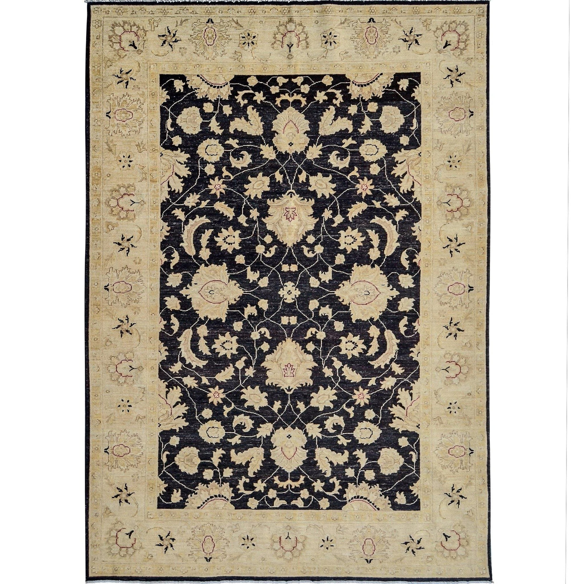 Fine Hand-knotted Wool Vintage Design Rug 198cm x 297cm Persian-Rug | House-of-Haghi | NewMarket | Auckland | NZ | Handmade Persian Rugs | Hand Knotted Persian Rugs