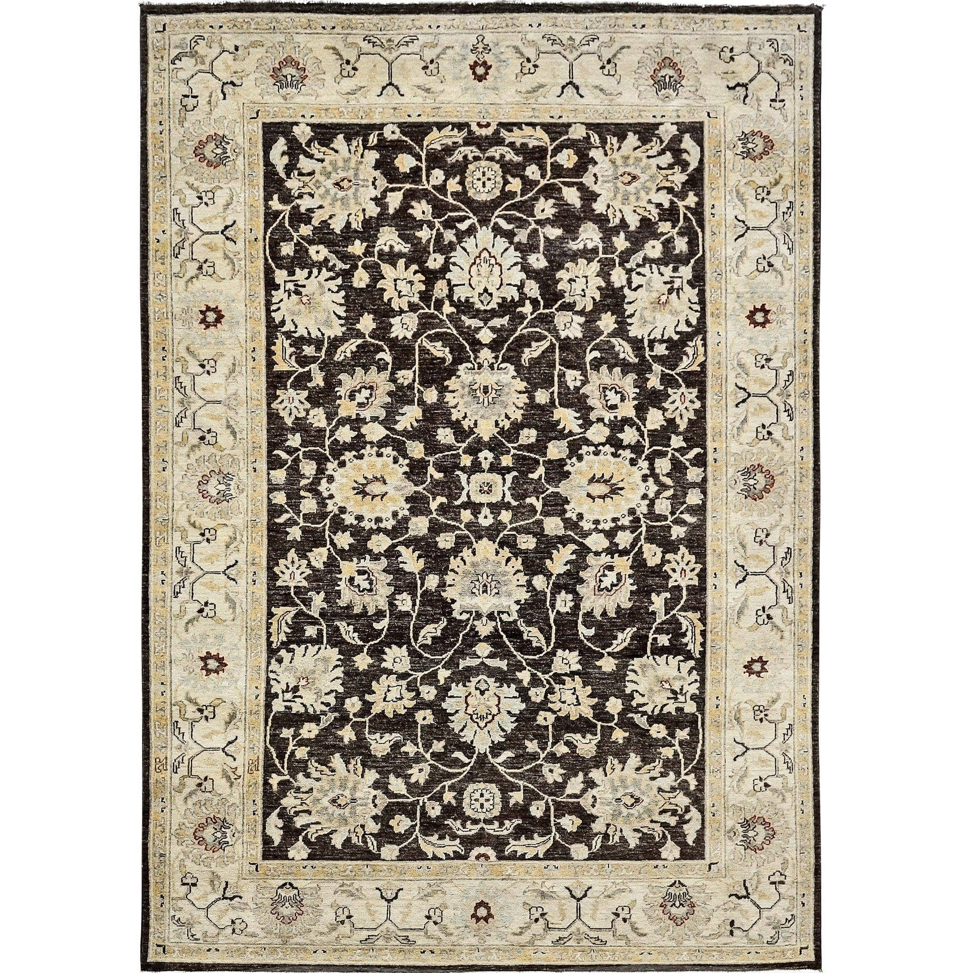 Fine Hand-knotted Vintage Design Chobi Rug 177cm x 267cm Persian-Rug | House-of-Haghi | NewMarket | Auckland | NZ | Handmade Persian Rugs | Hand Knotted Persian Rugs
