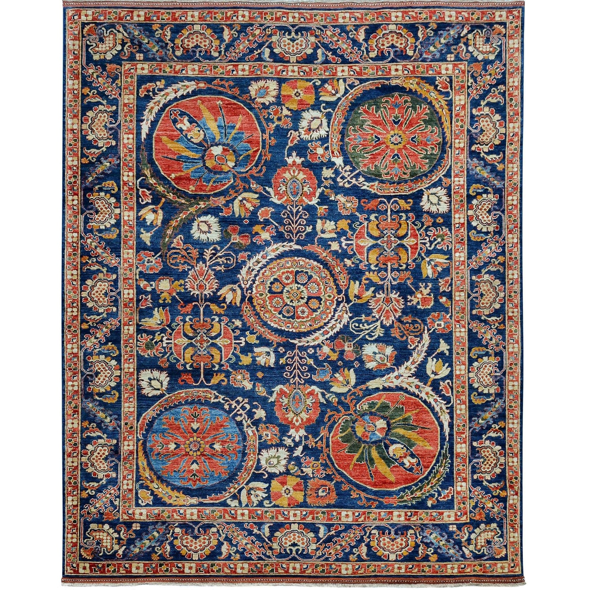 Fine Hand-knotted Tribal Wool Rug 247cm x 299cm Persian-Rug | House-of-Haghi | NewMarket | Auckland | NZ | Handmade Persian Rugs | Hand Knotted Persian Rugs