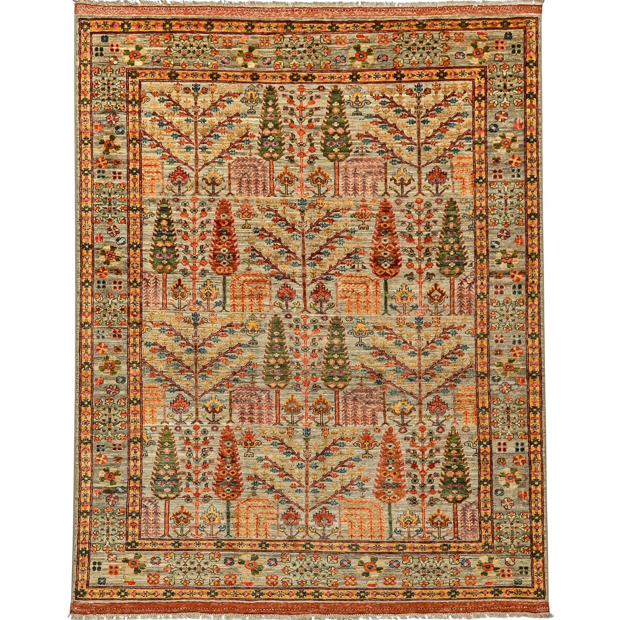 Fine Hand-knotted Wool Rug 174cm x 229cm Persian-Rug | House-of-Haghi | NewMarket | Auckland | NZ | Handmade Persian Rugs | Hand Knotted Persian Rugs