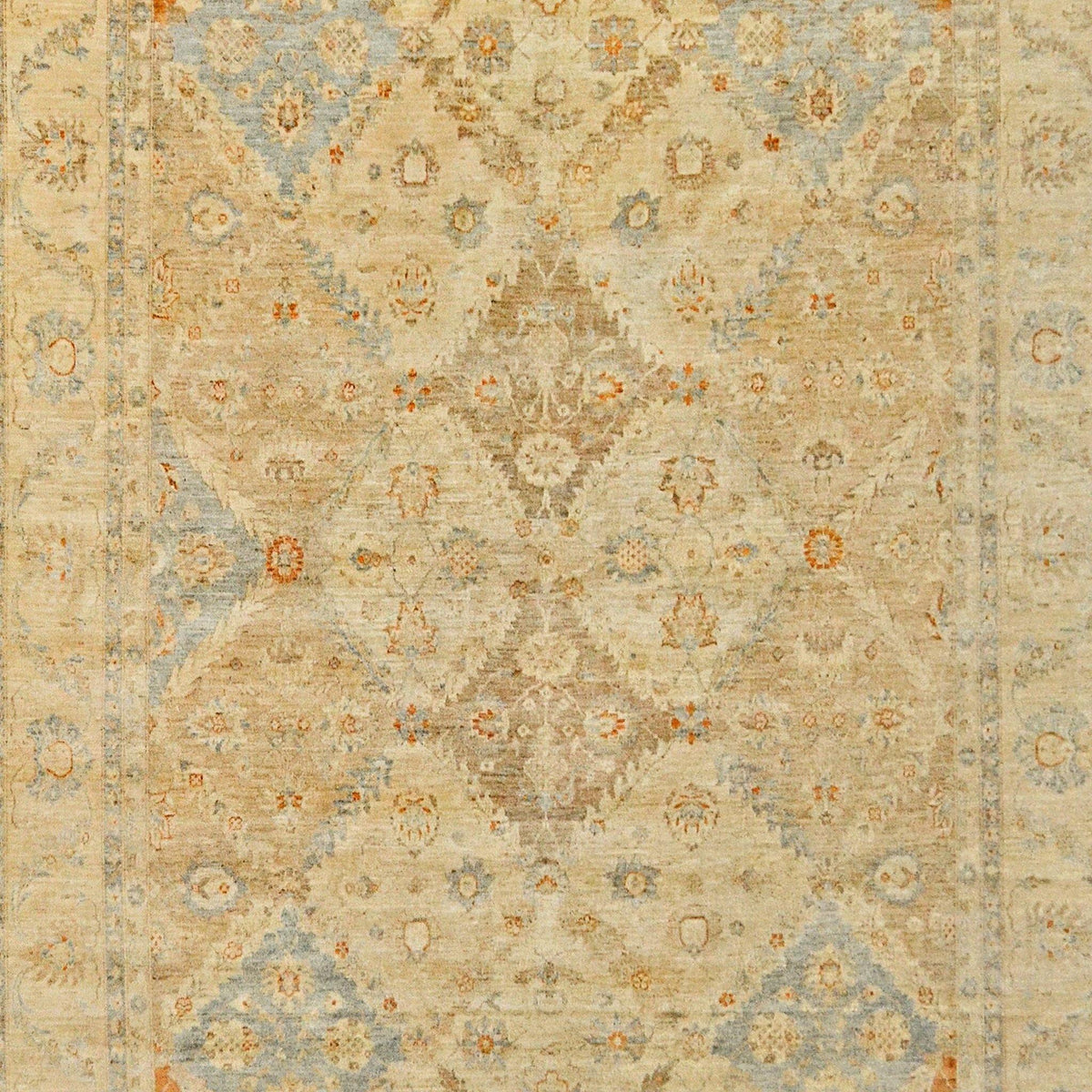 Hand-knotted Wool Vintage Design Rug 270cm x 366cm Persian-Rug | House-of-Haghi | NewMarket | Auckland | NZ | Handmade Persian Rugs | Hand Knotted Persian Rugs