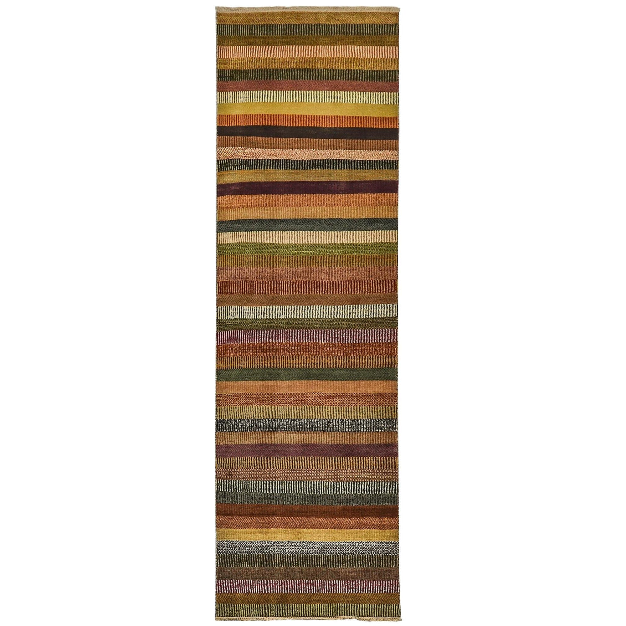 Fine Modern Hand-knotted NZ Wool Runner 87cm x 308cm Persian-Rug | House-of-Haghi | NewMarket | Auckland | NZ | Handmade Persian Rugs | Hand Knotted Persian Rugs