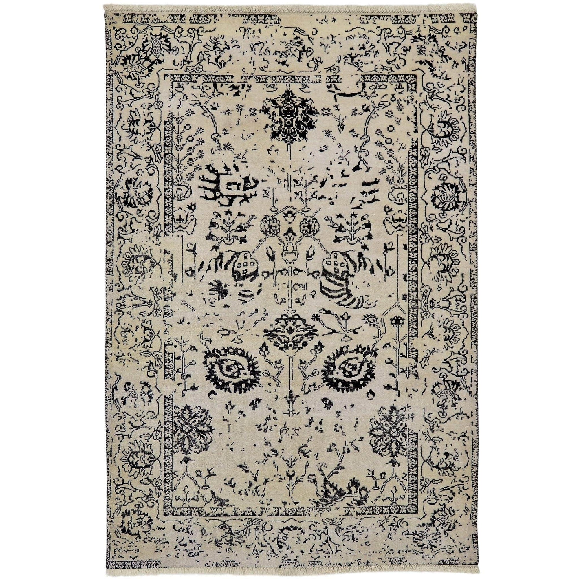 Fine Contemporary  Hand-knotted NZ Wool Rug 121cm x 188cm Persian-Rug | House-of-Haghi | NewMarket | Auckland | NZ | Handmade Persian Rugs | Hand Knotted Persian Rugs