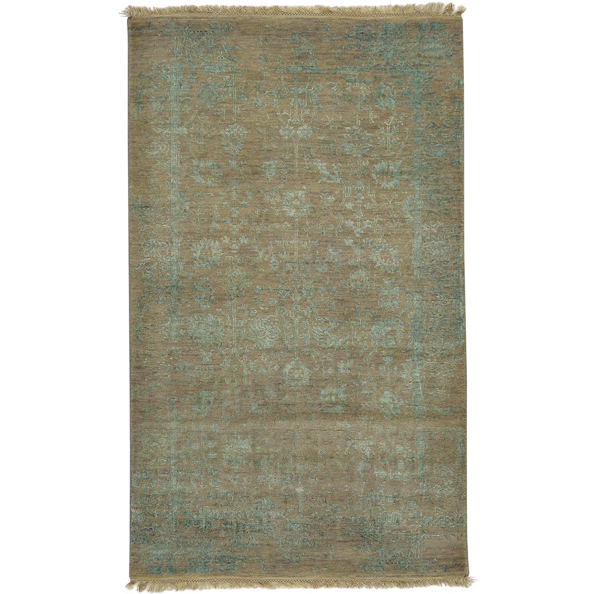 Fine Hand-knotted Galaxy Wool & Bamboo Silk Small Rug 92cm x 157cm Persian-Rug | House-of-Haghi | NewMarket | Auckland | NZ | Handmade Persian Rugs | Hand Knotted Persian Rugs