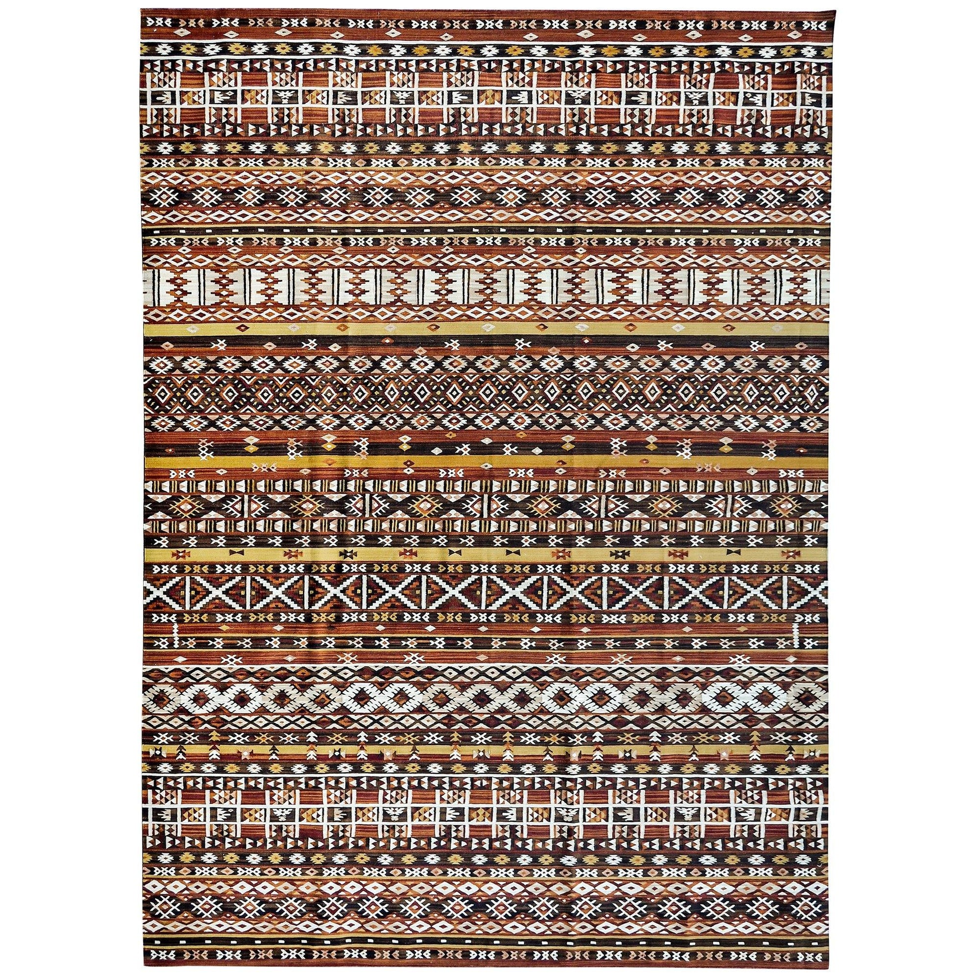 Large Persian 100% Wool Kilim Rug 260cm x 344cm Persian-Rug | House-of-Haghi | NewMarket | Auckland | NZ | Handmade Persian Rugs | Hand Knotted Persian Rugs